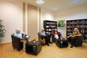 Leserunde im Clubraum